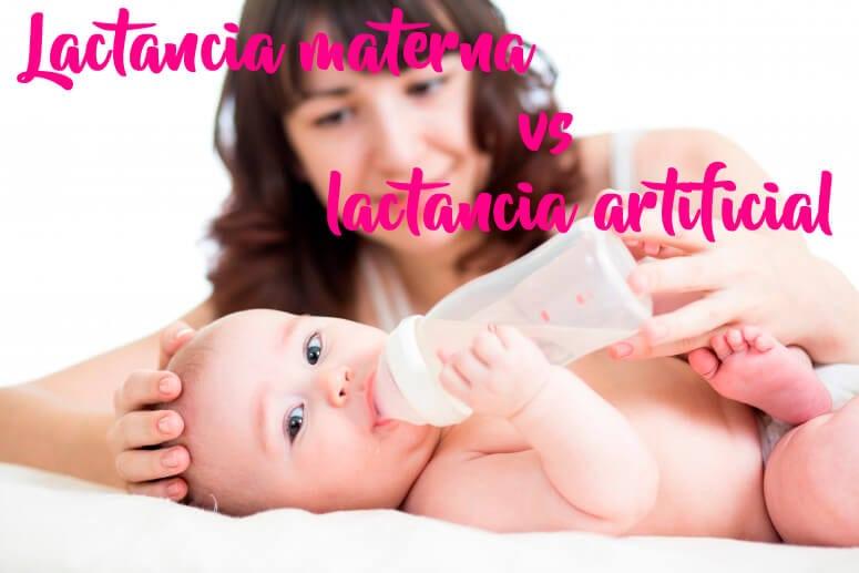 Lactancia materna vs lactancia artificial ¡Que no te engañen!