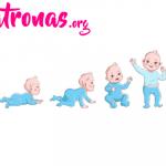 el crecimiento del bebé mes a mes